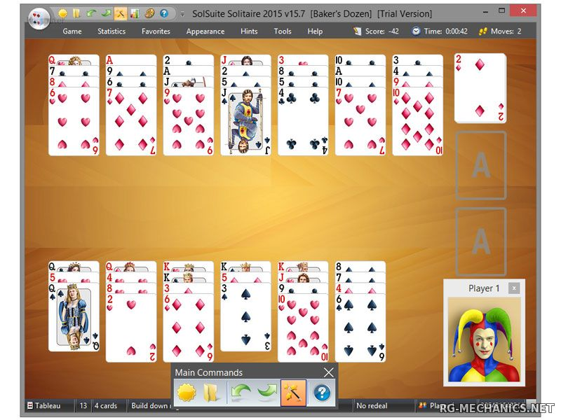 Скриншот к игре SolSuite Solitaire 2016 [v.16.4] (2016) PC