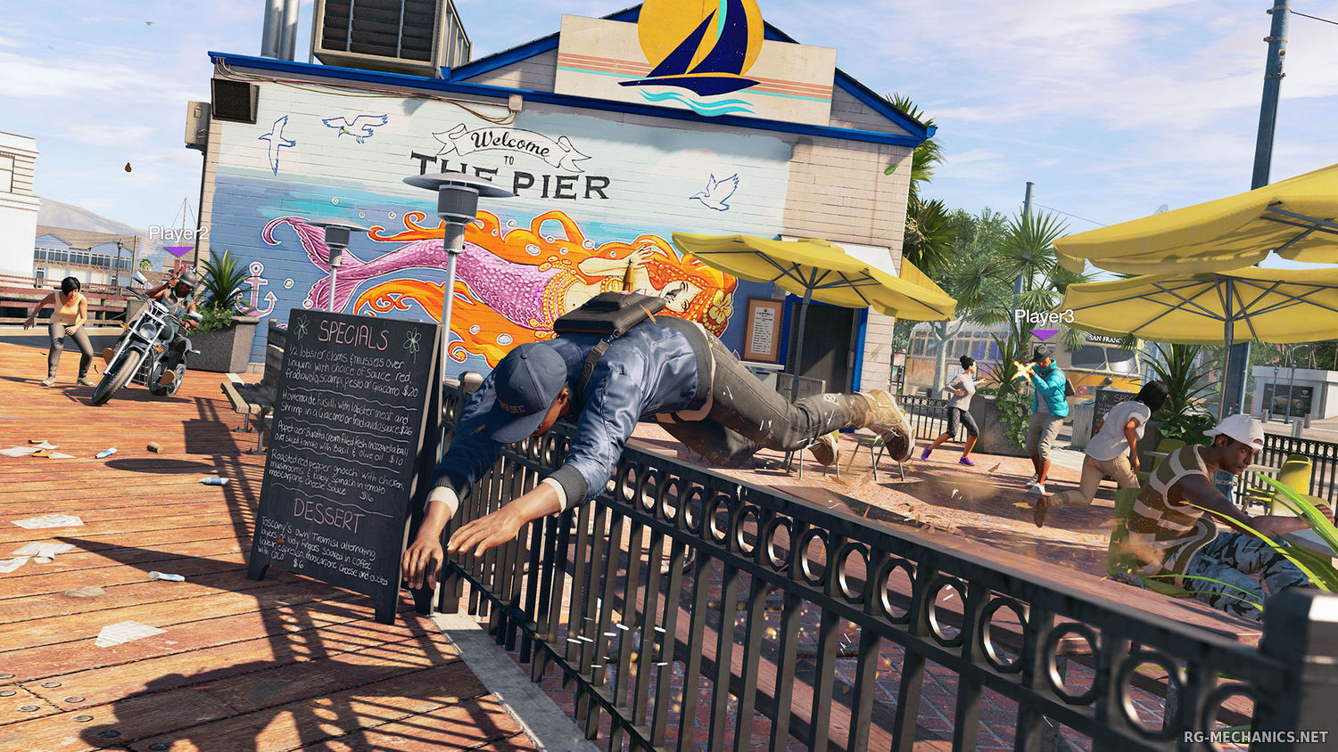Скриншот к игре Watch Dogs 2: Digital Deluxe Edition [v 1.017.189.2 + DLCs] (2016) PC | RePack от R.G. Механики