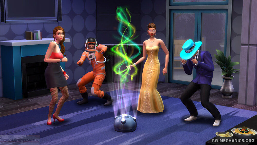 Скриншот 1 к игре The Sims 4: Deluxe Edition [v 1.71.86.1020 (x64) / 1.71.86.1020 (x32) + DLC] (2014) RePack от R.G. Механики
