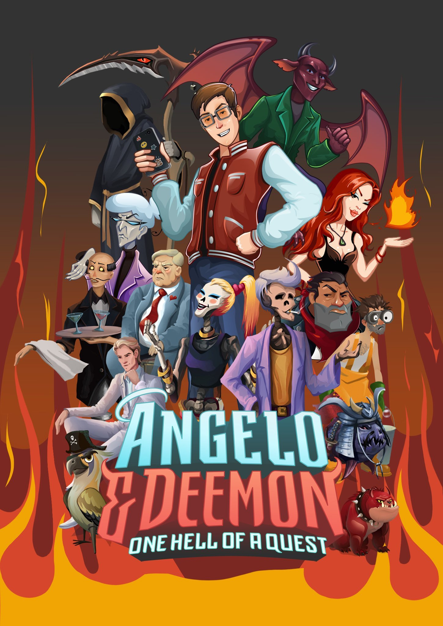 Angelo and Deemon: One Hell of a Ques (2019)