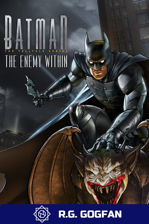 Batman The Enemy Within The Telltale Series+Batman Shadows Mode [GOG] (ENG/RUS/MULTI8) от R.G. GOGFAN (2017)