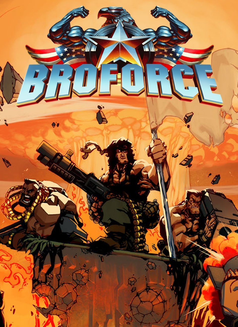 Broforce v.1032 [GOG] (2015) (2015)