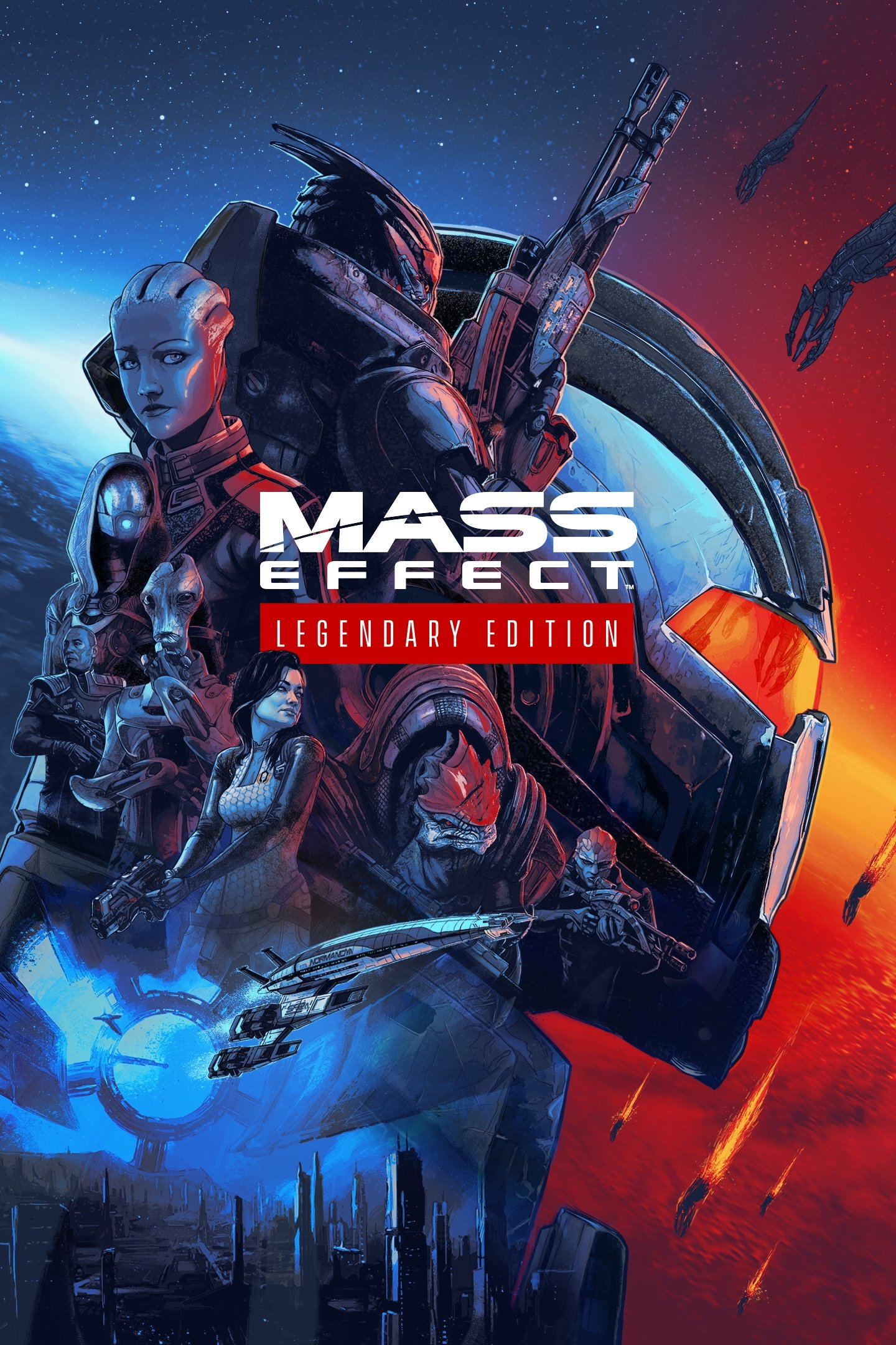 Обложка к игре Mass Effect: Legendary Edition (2021) Лицензия